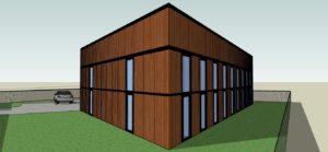 Wizualizacja projektu usługowego