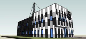 Projekt budynku uslugowego dla firmy